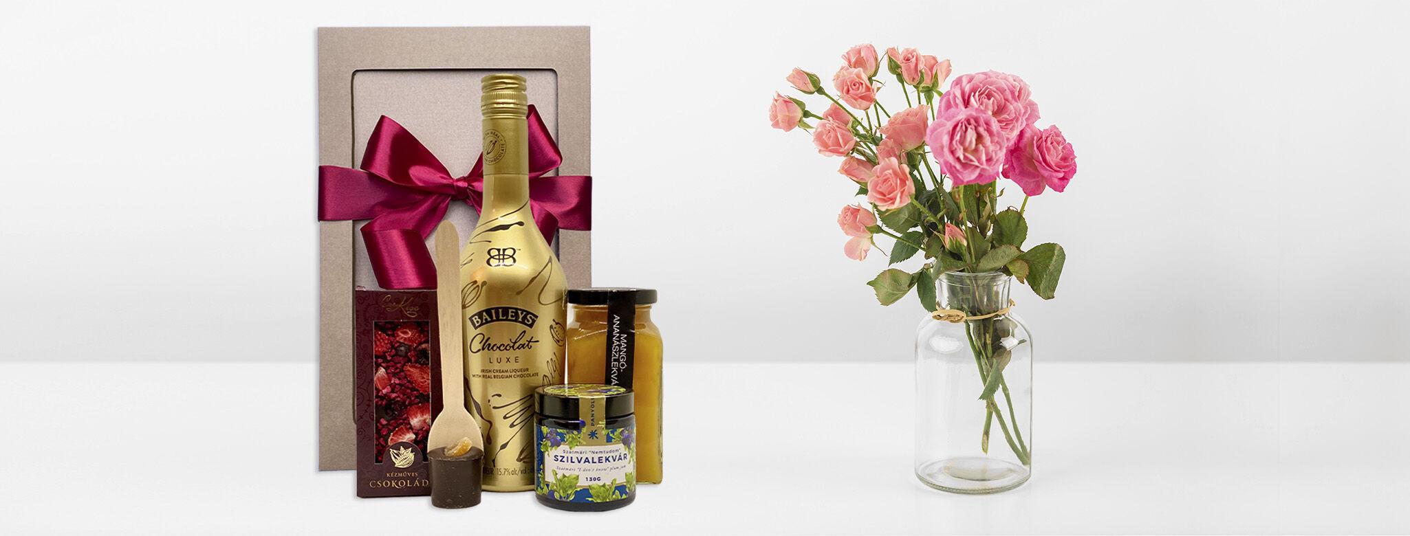 Ajándék és virágküldés nőnapra