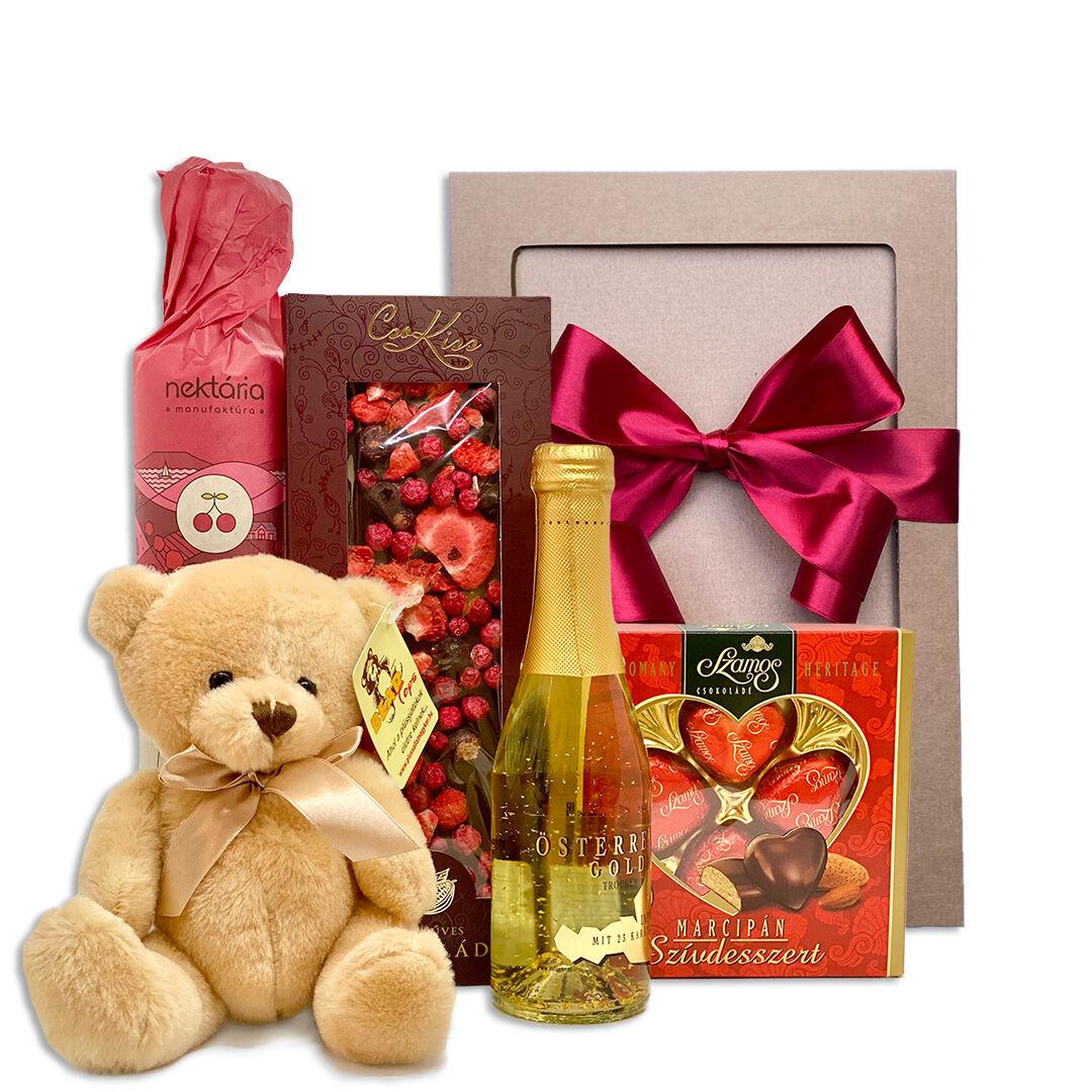 Valentin napi ajándékcsomag