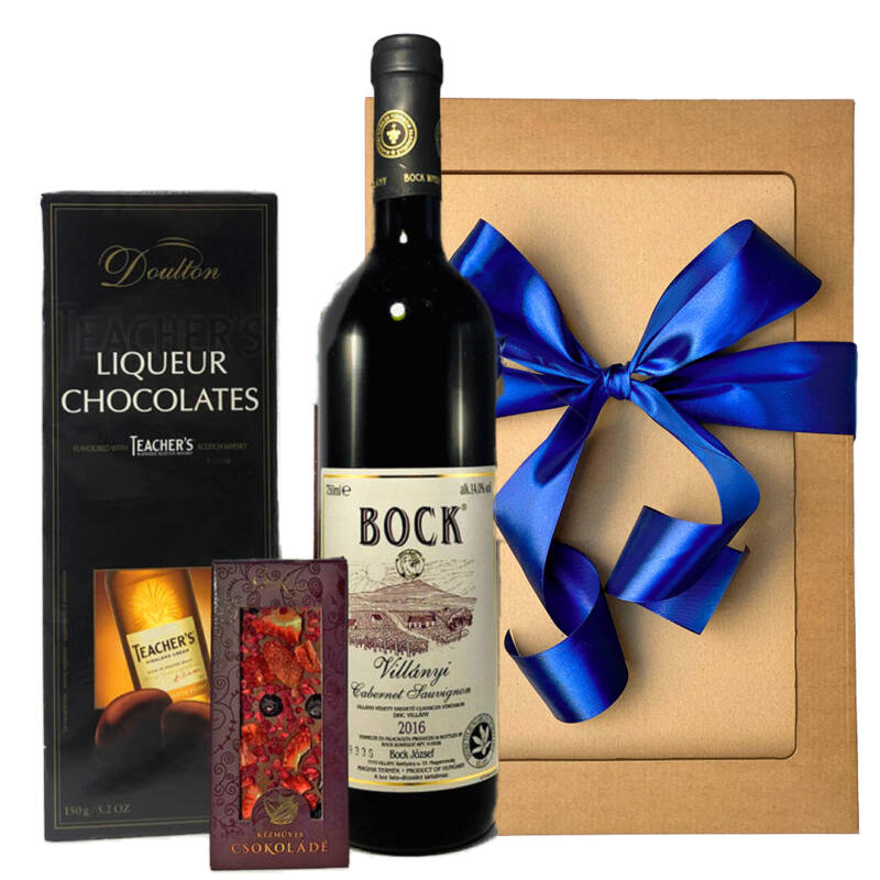 Boros ajándék ötlet csokival