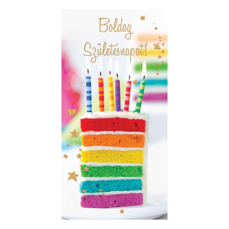 Boldog Születésnapot Képeslap Hölgyeknek