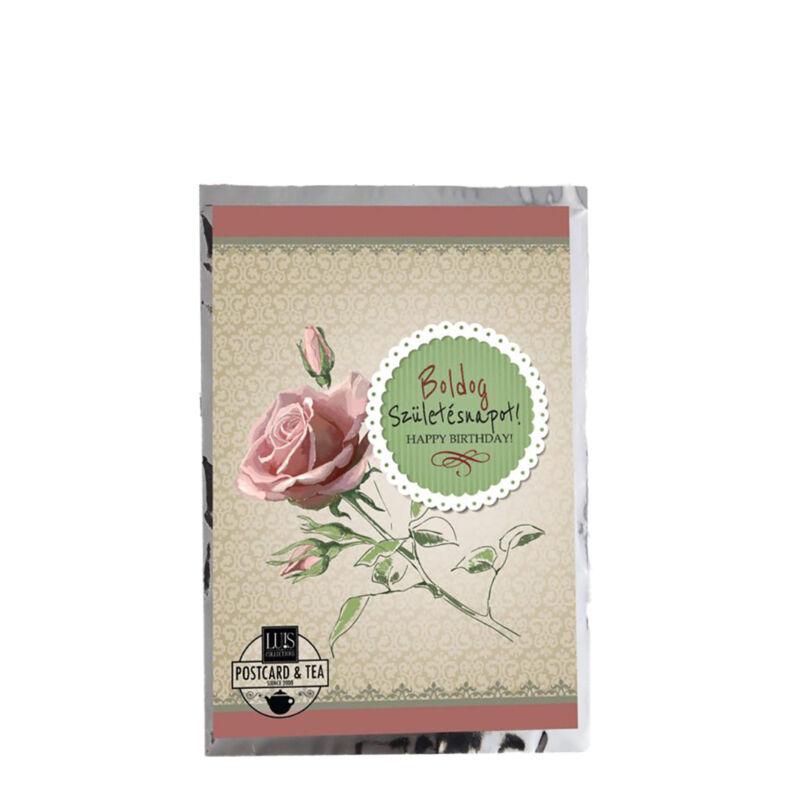 ajándék és virágküldés kiegészítő képeslap