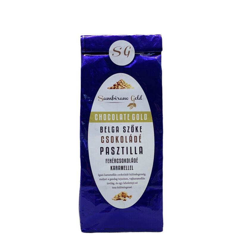 Prémium belga karamellás sós csokoládé