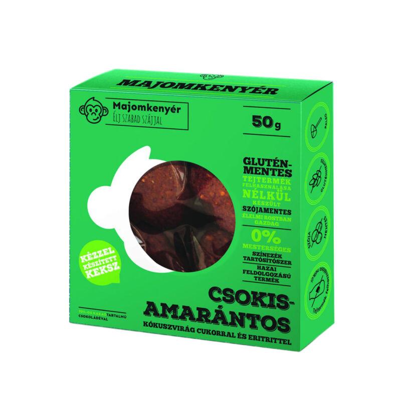 Csokis Amarántos keksz