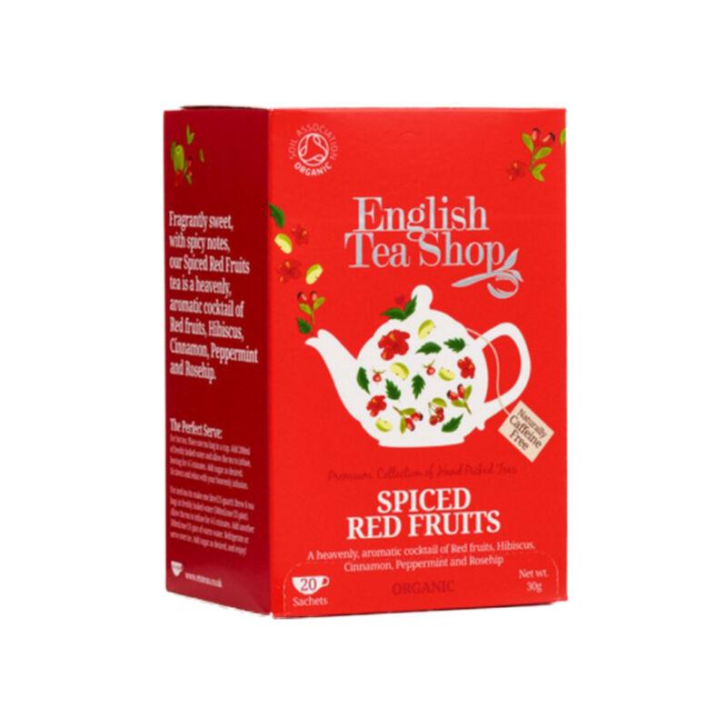 Bio fűszeres piros gyümölcsökből válogatott tea