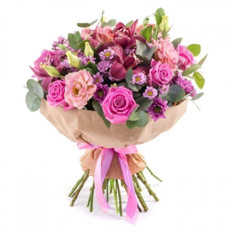 Köszöntés Virágcsokor