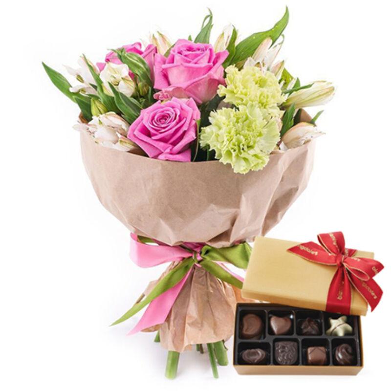 Jóságos - virág és csokoládé