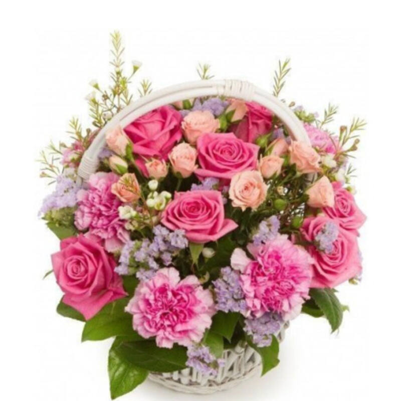 Mindent Köszönök Virágkosár