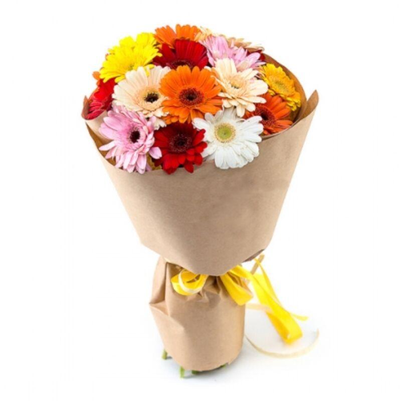 Mini gerberák virágcsokor