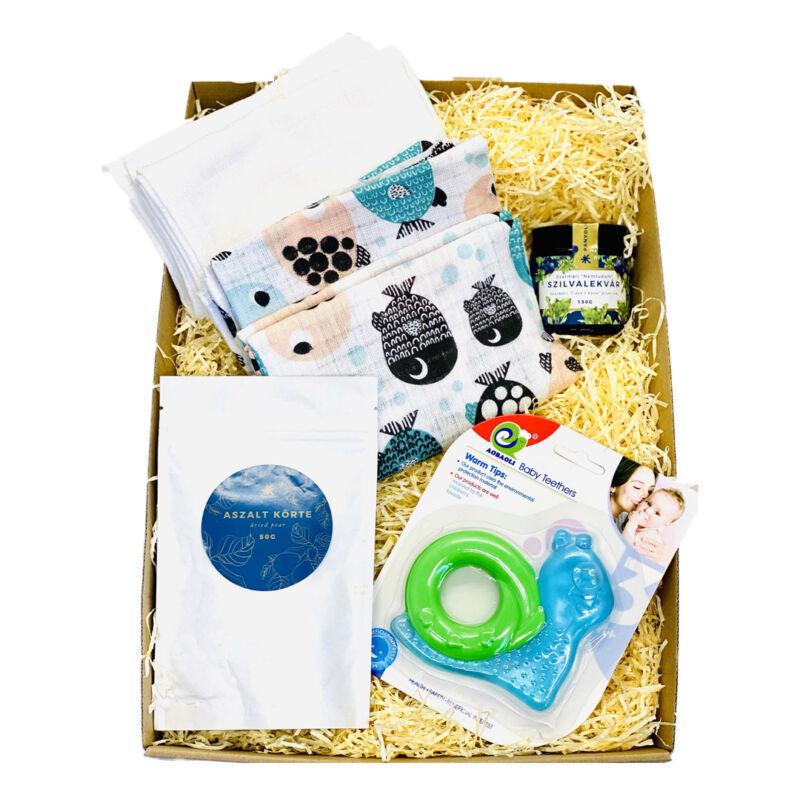 Babaváró ajándék csomag küldés kismamáknak szilvakülönlegességgel