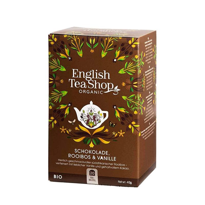 csokoladés bio tea ajándékkosár mellé