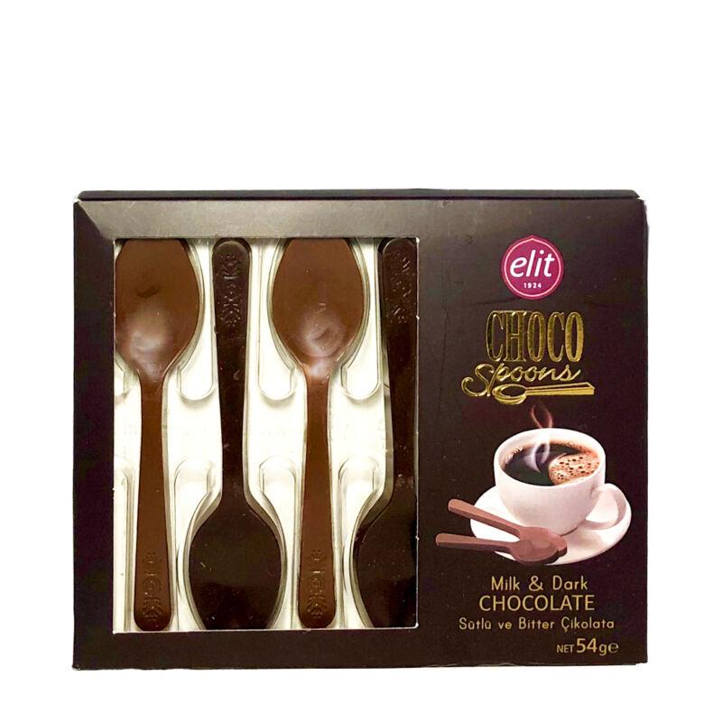 Csokoládé kanalak ajándékcsomag kiegészitő