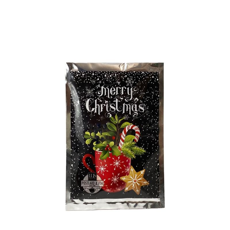 Karácsonyi tea képeslap ajándékküldéshez