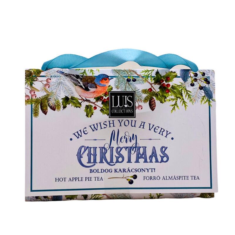 Krácsonyi tea ajándékcsomagba