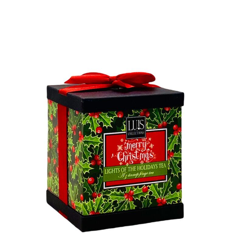 Karácsonyi tea díszdobozban