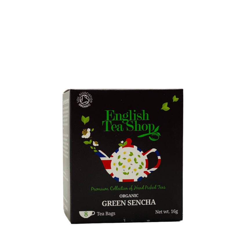 Green Sencha tea férfias ajándékcsomag mellé