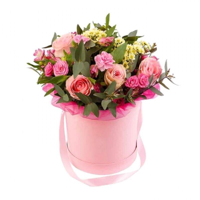 Modern virágbox küldés