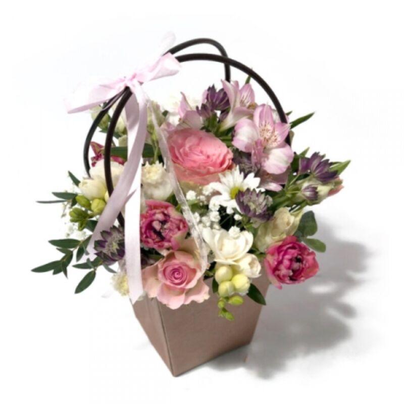 Modern virágbox